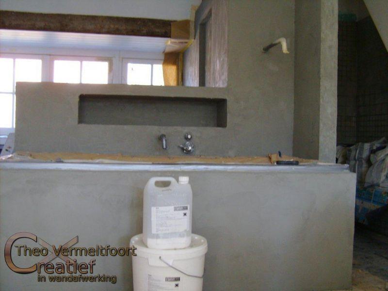 Beton In Badkamer : Beton ciré badkamer eindhoven