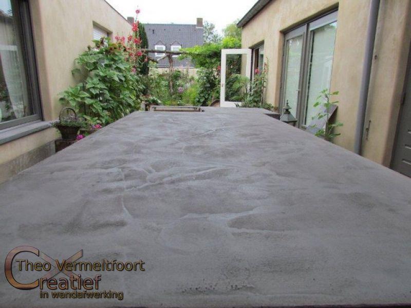 Beton Cire Werkblad Keuken : betoncire_aanrechtblad_1478