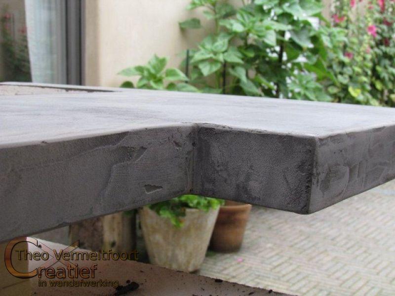 Beton Cire Keuken : Keuken met beton cire trudona beton ciré keuken voor een