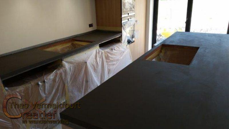 keukenbladen en wasbakken. Black Bedroom Furniture Sets. Home Design Ideas